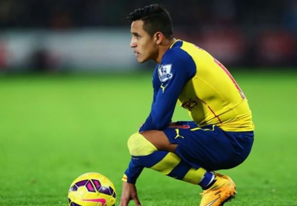 Alexis Sanchez Optimis Dapat Juara Bersama Arsenal