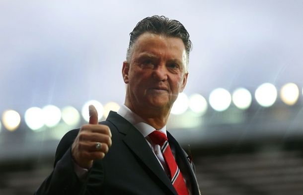 Louis Van Gaal Menyindir Fans Manchester City