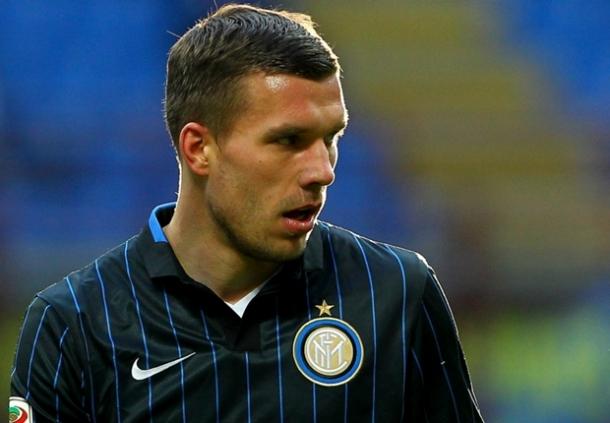Lukas Podolski Kian Tenteram Di Inter
