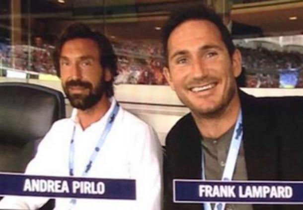 Farnk Lampard Bahagia Satu Klub Dengan Andrea Pirlo Dan David Silva