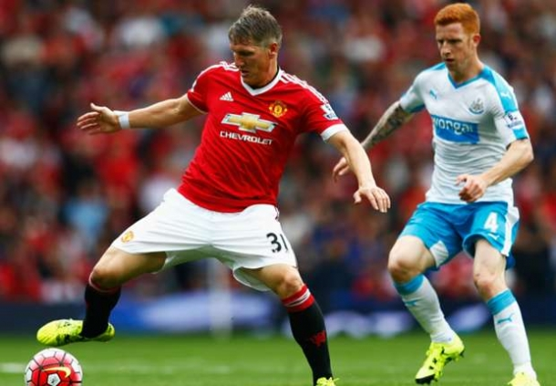 Skor Kacamata Babak Pertama Newcastle United Vs Manchester United